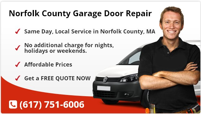 Norfolk County Garage Door Repair